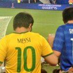 Viral: Niño vio jugar a Brasil con la camiseta de Messi