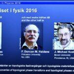 Nobel de Física 2016 para investigadores británicos por estados de la materia
