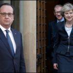 Hollande: Si Theresa May quiere un brexit duro, negociación será dura