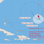 EEUU: Tormenta Nicole se convierte de nuevo en huracán rumbo a las Bermudas