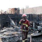 Callao: Incendio consume 16 casas de asentamiento humano (VIDEO)