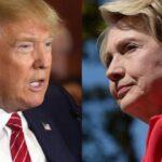 Clinton saca 6 puntos a Trump en sondeo a poco más de un mes de elecciones