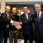 Barcelona: Javier Mascherano firmó su renovación hasta 2019 (VIDEO)