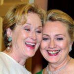 """Meryl Streep se sentiría """"muy halagada"""" de interpretar a Hillary Clinton"""