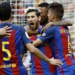 Barcelona vence a Valencia con tanto de penal de Messi en minuto final
