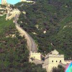 China: Un vendaval causa daños en un tramo de la Gran Muralla