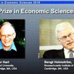 Nobel de Economía 2016 para Oliver Hart y Bengt Holmström
