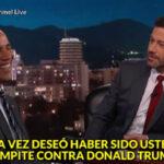 Obama se refirió a Trump con humor ácido en el show de Jimmy Kimmel