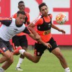 Selección peruana entrenó pensando en choque ante Chile del martes