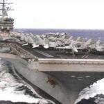 Hackers chinos atacaron transmisiones del portaaviones Ronald Reagan