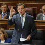 Congreso rechaza en primera votación a Rajoy como presidente del Gobierno