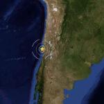 Chile: Sismo de 6 grados remeció la región centralesta tarde