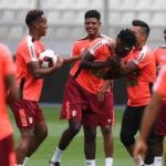 Selección peruana: La bicolor entrenó en el estadio Nacional