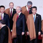 APEC: Obama, Putin y Xi Jinping lucieron prendas de vicuña (FOTOS)
