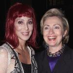 Hillary Clinton convoca a legendaria cantante Cher para evento en Miami