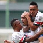 Sao Paulo ganó 2-1 a Atlético Mineiro con Christian Cueva los 90 minutos