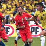 Eliminatorias Rusia 2018: Colombia y Chile igualan sin goles por la fecha 11