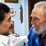 Maradona: Fidel Castro era 'el más grande' y como un 'segundo padre'