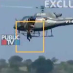 INDIA: Actores que hacían de villanos saltan de helicóptero y se ahogan (VIDEO)