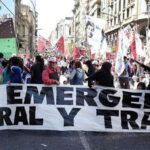 Argentina: Miles de manifestantes exigen aprobar ley de emergencia social