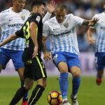 Liga Santander: Málaga logra una victoria agónica por 3-2 frente al Sporting