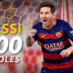 Lionel Messi llega a los 500 goles con la camiseta del Barcelona