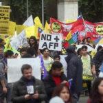 Chile: Convocan paro nacional para exigir fin sistema de las AFP