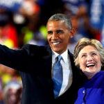 """Obama llama a """"rechazar el miedo y elegir la esperanza"""" en mitin de Clinton"""