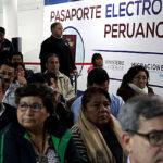 Perú tiene demanda de 800.000 pasaportes biométricos, el doble de lo esperado