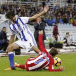 Liga Española: Real Sociedad gana 2-0 al Atlético Madrid