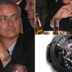 José Mourinho dona su reloj valorizado en 18 mil euros en cena benéfica