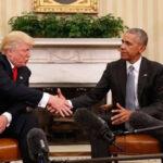 Donald Trump estudiará sugerencias de Barack Obama en plan de Salud