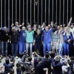 Brasil: Turba irrumpe en Congreso pidiendo intervención militar (VIDEO)