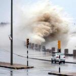 Uruguay: Alerta roja por tormentas eléctricas, vientos huracanados y lluvias