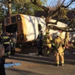 EEUU: 12 colegiales muertos y 23 heridos al estrellarse autobús escolar