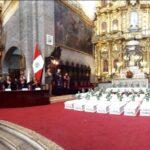 Pérez Tello en ceremonia de restitución de cuerpos de víctimas de violencia
