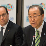 Ban Ki-moon y Hollande demandan a Trump respetar los acuerdos climáticos