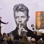 Colección de arte privada de Bowie se vende por 39.6 millones de dólares