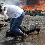 Mozambique: 73 muertos y 100 heridos al explosionar camión cisterna