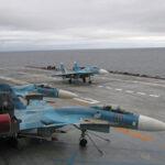 Siria: Caza bombardero ruso se estrella al intentar aterrizar en portaaviones