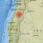 Fuerte sismo de 6,4 en la escala de Richter sacude el centro y sur de Chile