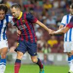 Real Sociedad vs Barcelona: catalanes juegan la difícil plaza de Anoeta