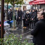 Francia: Hollande cierra en el Bataclan conmemoración de atentados de París