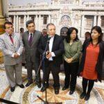 Frente Amplio advierte régimen autoritario en el Congreso