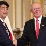 Abe y Kuczynski destacan sus políticas económicas de apertura al Pacífico