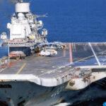 Siria: Portaaviones ruso llega en apoyo a guerra contra yihadistas y rebeldes