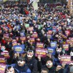Seúl acogerá este sábado nueva manifestación contra presidenta surcoreana