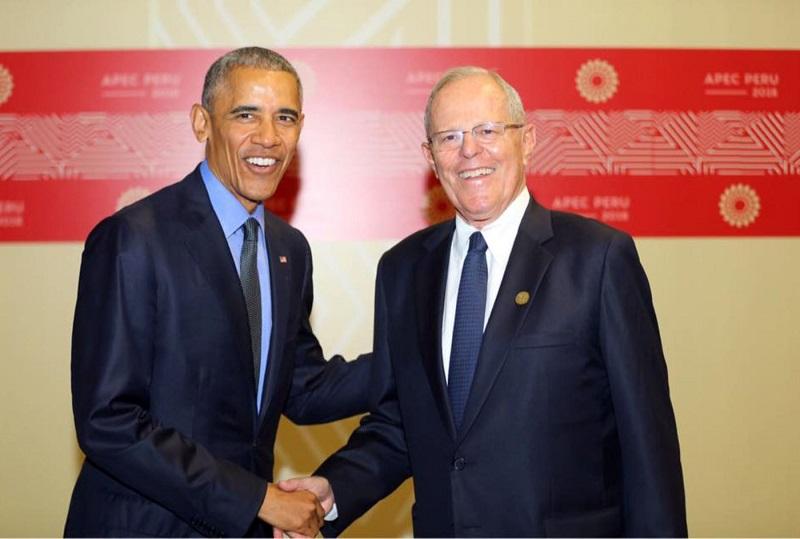 Obama, Putin y Jingping en Cumbre APEC en Lima