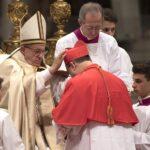 El Papa ordena 17 nuevos cardenales, 13 de ellos electores