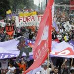 Brasil: Centrales sindicales realizan paro contra gobierno de Temer (VIDEO)